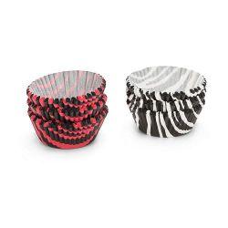 Patise Mini Papieren Cupcake Vormpjes Dieren Print 200/pc