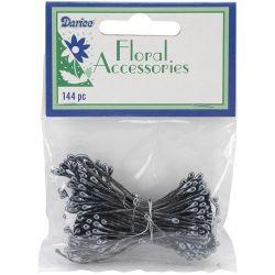 Darice Floral Accessories Black Pearl Stamen 144pc