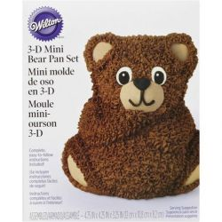 Wilton 3-D Mini Bear Pan Set