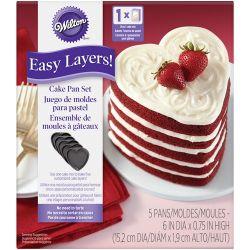 Wilton Heart Cake Pan Easy Layers