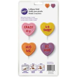 Wilton Heart Lolli Mold