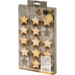 Birkmann Mini Stars Siliconen Bakvorm