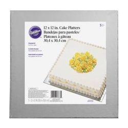 Wilton Cake Platter 30x30cm set/5
