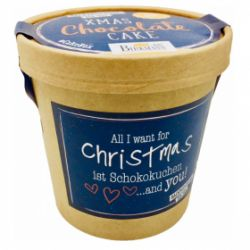 Birkmann Bakmix Xmas Chocolate Cake 'All I want for Christmas ist Chocokuchen and you!'