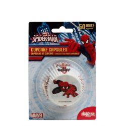 Marvel Spiderman Cupcake capsules 50 pcs