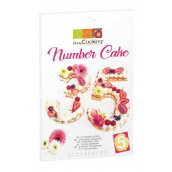 Scrap Cooking Number Cake Kit