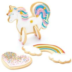 Kitchen Craft 3D Standing Unicorn Cookie Cutter Set