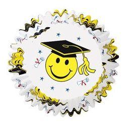 Wilton Geslaagd Baking Cups Smiley 75/st