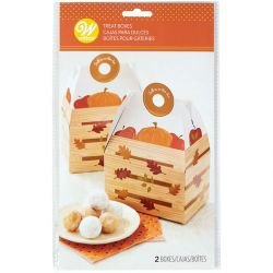 Wilton Treat Boxes Fall Is In The Air 2/pc