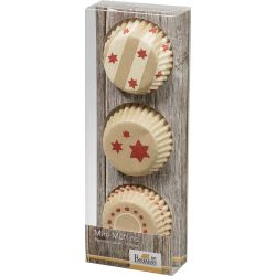 Birkmann Mini MuffinVormpjes Little Christmas 72pc