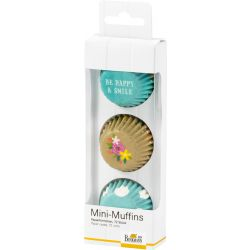 Birkmann Mini Muffinvormen Be Happy & Smile Dots