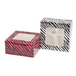Patisse Cupcake Dozen Zebra 4 delig - 2 stuks
