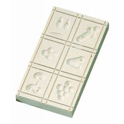 Birkmann Springerle Moulds 6 Designs 15 x 9 cm Maple
