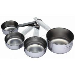 Kitchencraft Set of 4 Measuring Cups