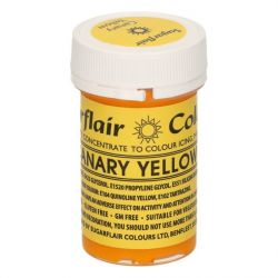Sugarflair Paste Colour Canary Yellow
