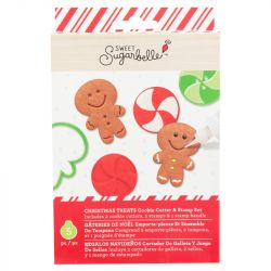 Sweet Sugarbelle Christmas Treats Cookie and Stamp Set