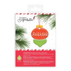 Sweet Sugarbelle Christmas Ornament Cookie Cutter Kit