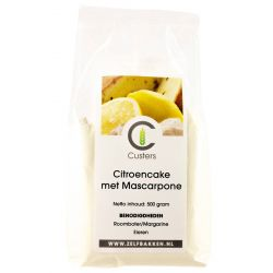 Citroencake met mascarpone 500gr