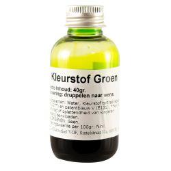 Kleurstof  groen 40ml