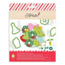Sweet Sugarbelle Deck The Halls Cookie Cutter Set 9pc