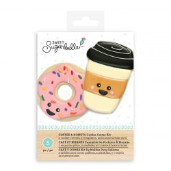 Sweet Sugarbelle Coffee & Donuts Cookie Cutter Kit 5 pc