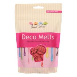 Fun Cakes Deco Melts Rood 250 gram