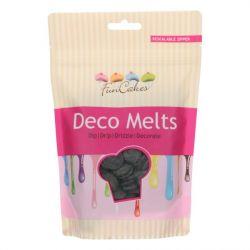 Funcakes Deco Melts Zwart 250 Gram