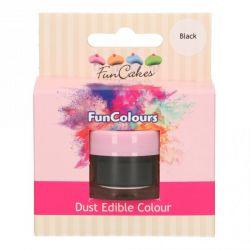 Funcakes Funcolours Dust Edible Colour Black