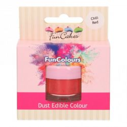 Funcakes Funcolours Dust Edible Colour Chili Red