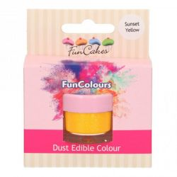 Funcakes Funcolours Edible Dust Colours Sunset Yellow