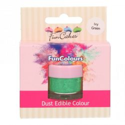Funcakes Funcolours Dust Edible Green Ivy Green
