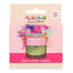 Funcakes Funcolours Dust Edible Colour Lime Zest