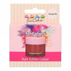 Funcakes Funcolours Dust Edible Colour Burgundy