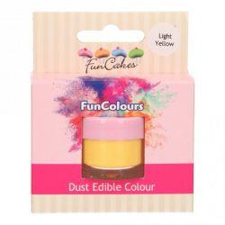 Funcakes Funcolours Dust Edible Colour Light Yellow