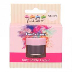 Funcakes Funcolours Dust Edible Colour Aubergine