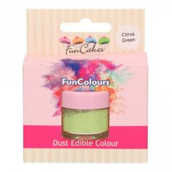 Funcakes Funcolours Dust Edible Colour Citrus Green