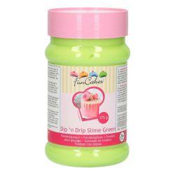 FunCakes Dip 'n Drip Slime Green 375g