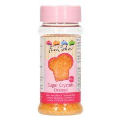 Funcakes Sugar Crystals Orange 80 gr