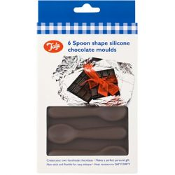 Tala 6 Spoon shape silicone chocolate moulds