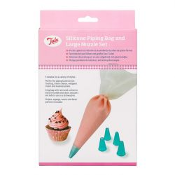 Tala Silicone Icing Bag 5 Nozzles