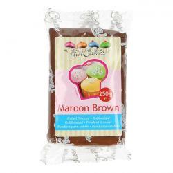 FunCakes fondant Maroon Brown 250gr