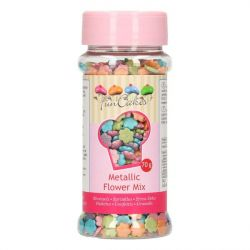 FunCakes metallic bloemen mix 70gr