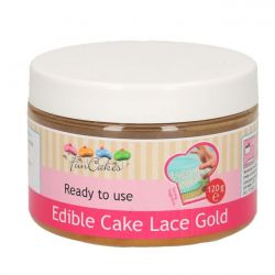 FunCakes Cake lace gold 120gr