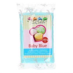 FunCakes Fondant Baby Blue 250gr