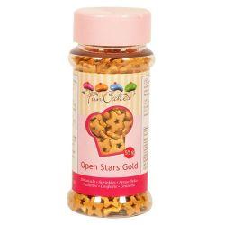 FunCakes open stars goud 55gr