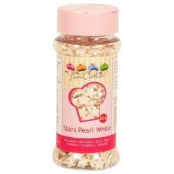 FunCakes Stars pearl white 60gr