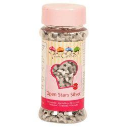 FunCakes open stars zilver 55gr