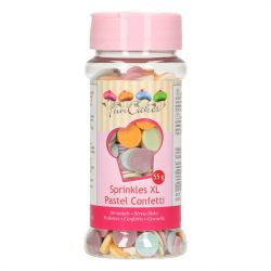 FunCakes Confetti XL pastel 55gr
