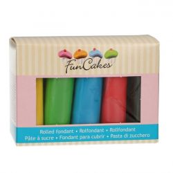 FunCakes rolfondant multipack essential 5x100gr
