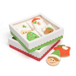 Sweet Sugarbelle Christmas cookie boxes 4pc
